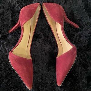 Michael Kors Wine Colored Heels